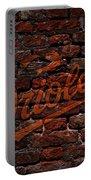 Orioles Baseball Graffiti On Brick  Portable Battery Charger