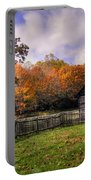 Orlean Puckett's Cabin Portable Battery Charger by Benanne Stiens