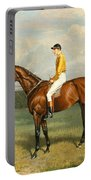 Ormonde Winner Of The 1886 Derby Portable Battery Charger by Emil Adam