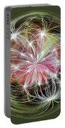 Ornamental Dandelion Portable Battery Charger
