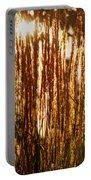 Ornamental Golden Grass Portable Battery Charger