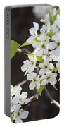 Ornamental Pear Blossoms No. 1 Portable Battery Charger