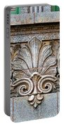 Ornamental Scrollwork Panel - Architectural Detail Portable Battery Charger