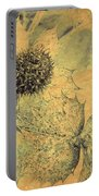 Ornamental Thistle Flower Portable Battery Charger