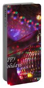 Ornaments-2054-happyholidays Portable Battery Charger
