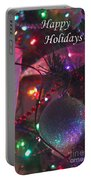 Ornaments-2136-happyholidays Portable Battery Charger