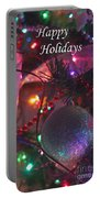 Ornaments-2143-happyholidays Portable Battery Charger