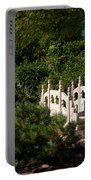 Ornate White Stone Bridge  Portable Battery Charger