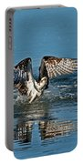 Osprey Getting Out Of The Water Portable Battery Charger