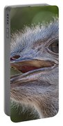 Ostrich Bokeh  Portable Battery Charger