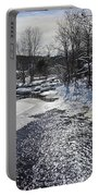 Otter Brook Scene Portable Battery Charger