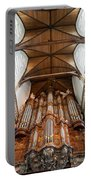 Oude Kerk Baroque Grand Organ In Amsterdam Portable Battery Charger