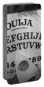 Ouija Board Queen Mary Ocean Liner Bw Portable Battery Charger