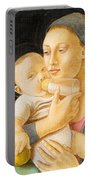 Our Lady Nursing The Child Portable Battery Charger