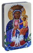 Our Lady Of Czestochowa Portable Battery Charger