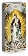 Our Lady Of Guadelupe 1848 Portable Battery Charger