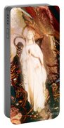Our Lady Of Lourdes Portable Battery Charger