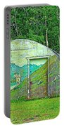 Our Lady Of The Way Quonset Hut Chapel In Haines Junction-yt Portable Battery Charger
