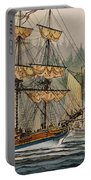 Our Seafaring Heritage Portable Battery Charger by James Williamson