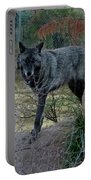 Out Of Africa Black Wolf Portable Battery Charger