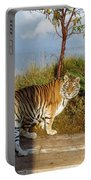 Out Of Africa  Tiger 1 Portable Battery Charger