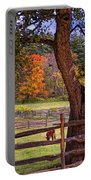 Out To Pasture Portable Battery Charger by Joann Vitali