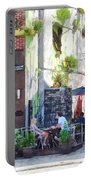 Outdoor Cafe Philadelphia Pa Portable Battery Charger