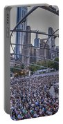 Chicago Outdoor Concert Portable Battery Charger