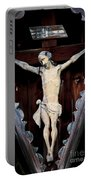 Outdoor Display Of The Crucifixion Of Christ Portable Battery Charger