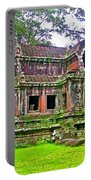 Outer Building Of Angkor Wat In Angkor Wat Archeological Park Near Siem Reap-cambodia  Portable Battery Charger