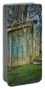 Outhouse In Spring Portable Battery Charger
