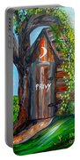 Outhouse - Privy - The Old Out House Portable Battery Charger
