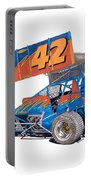 Dirt Track Racing Outlaw 42 Portable Battery Charger