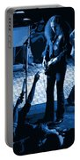 Outlaws #16 Art Blue Portable Battery Charger