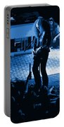 Outlaws #29 Art Blue Portable Battery Charger