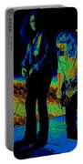 Outlaws #31 Crop 2 Art Cosmic Portable Battery Charger