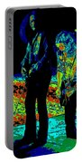 Outlaws #31 Crop 2 Art Psychedelic Portable Battery Charger
