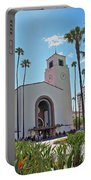 Outside Los Angeles Union Station Portable Battery Charger