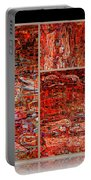 Outside The Box - Abstract Art Portable Battery Charger