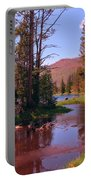 Outstanding Yellowstone National Park Portable Battery Charger by John Malone