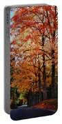 Over The Hill And Through The Trees Portable Battery Charger