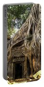 Overgrown Jungle Temple Tree  Portable Battery Charger