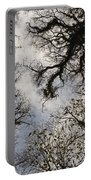 Overhead Trees In Exmoor, United Kingdom Portable Battery Charger
