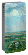 Overlook Near Peaks Of Otter Portable Battery Charger