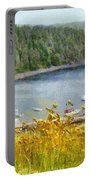 Overlooking The Harbor Portable Battery Charger