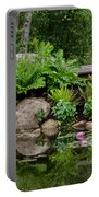 Overlooking The Lily Pond Portable Battery Charger