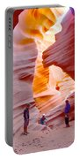 Overwhelmed In Lower Antelope Canyon-az Portable Battery Charger