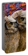 Owlets In Color Portable Battery Charger