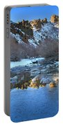 Owyhee River Reflection Desert Light Portable Battery Charger