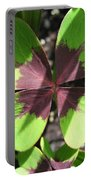 Oxalis Deppei Named Iron Cross Portable Battery Charger